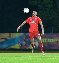 Fane has fun Klok-ing up training with Jakarta-based buddy