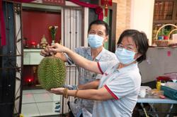 Durians at your doorstep