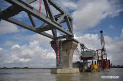 4.5km of Bangladesh's Padma Bridge visible as Chinese firm continues construction despite Covid-19