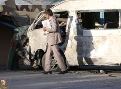 Islamic State kills Afghan journalist, technician in bus blast
