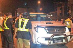 Joint road operation in Brunei sees many traffic rule violations