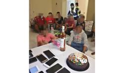 Surprise! Cops crash birthday party, 14 arrested for breaching MCO