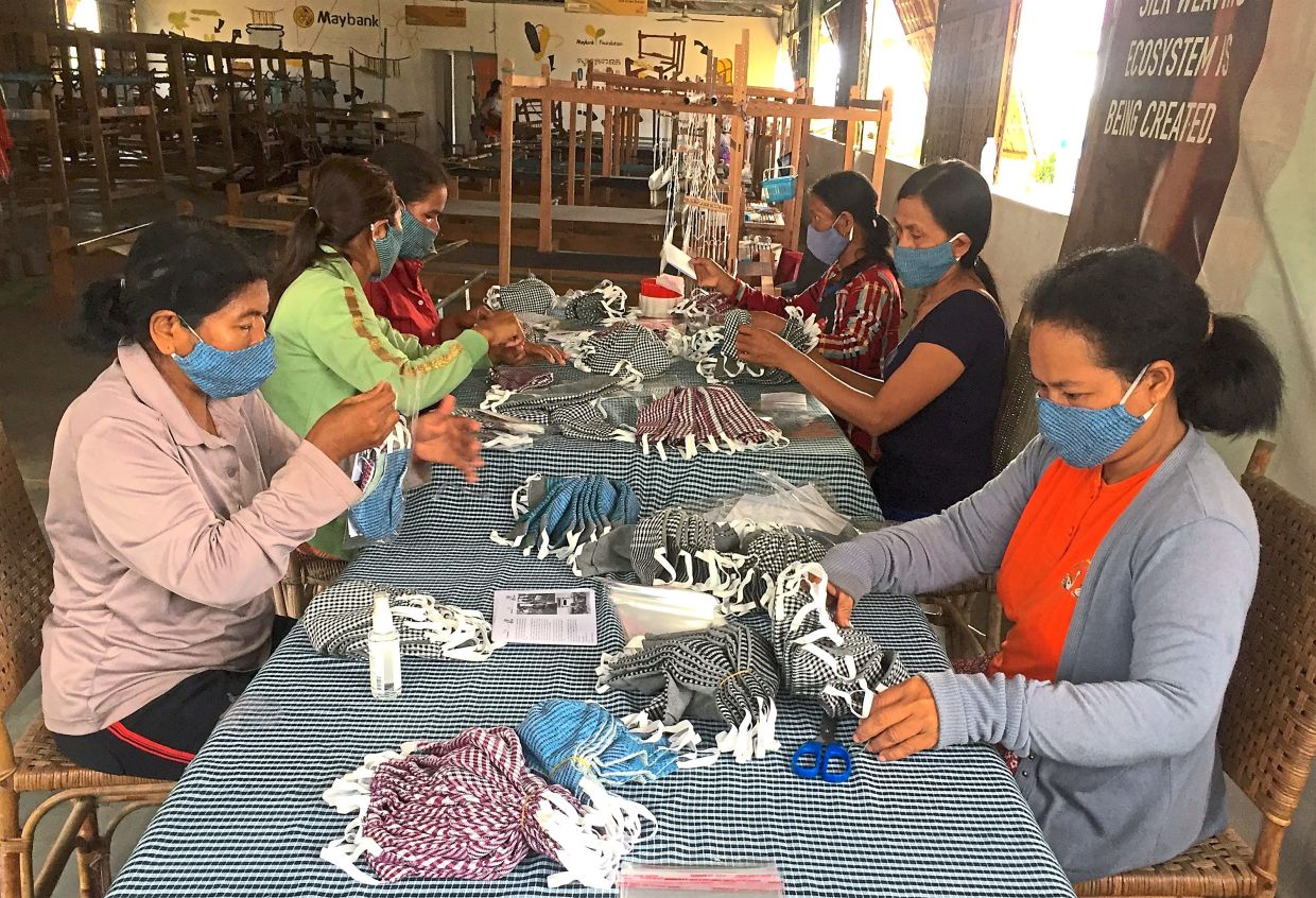 Weaving a way to join global fight