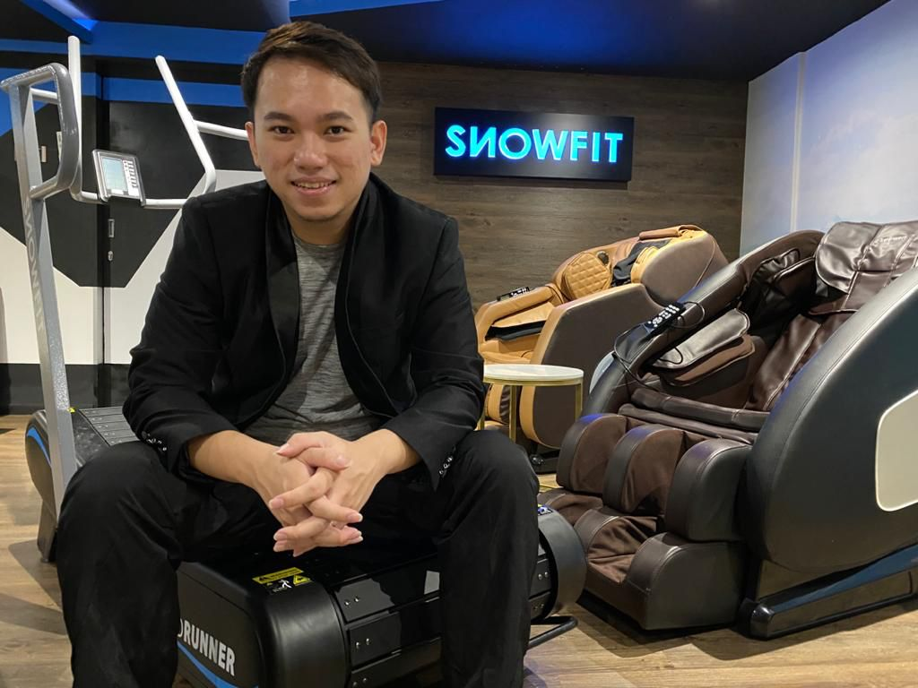 SnowFit Malaysia founder and CEO Louis Low: