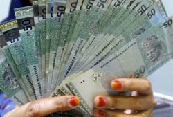 Ringgit slightly higher on oil price increase