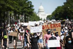 Curfew announced in Washington after protests near White House