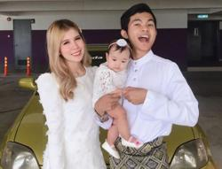 Singer Tajul Ariff shares his Hari Raya experience as a first-time father