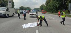 Military man killed in five-vehicle accident