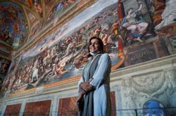 Virtual no more - real Michelangelo awes again in Vatican Museums