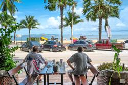 Thais seek sun and surf as some beaches reopen