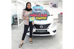 Retailer rewards loyal member with new car