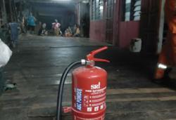 Volunteer firefighters save longhouse in Sarawak's Sebuyau District
