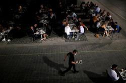 Midnight cowboy steak: French restaurant re-opens after lockdown
