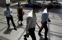 Singapore reports 544 new coronavirus cases - health ministry