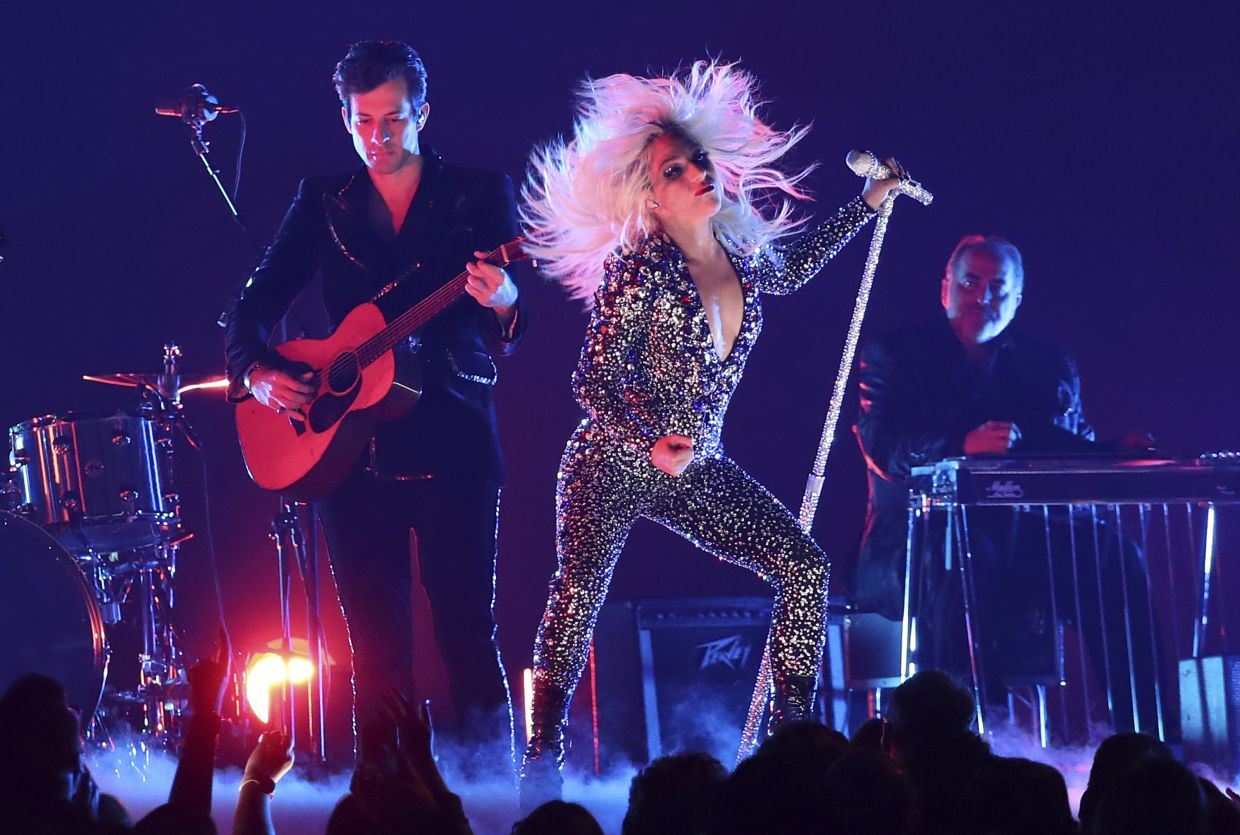 'I can't wait to dance with people to this music,' Lady Gaga says of her new album, 'Chromatica'. Photo: AP
