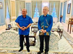 Mutual interest in boosting development in Johor