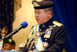 Johor Sultan issues warning to dissolve state assembly if power grabbing continues