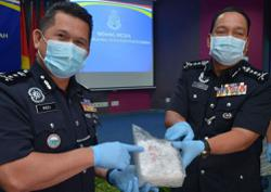 Sabah cops nab foreigner trying to smuggle 5kg of syabu