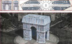 Arc de Triomphe in Paris to get posthumous Christo wrap in 2021