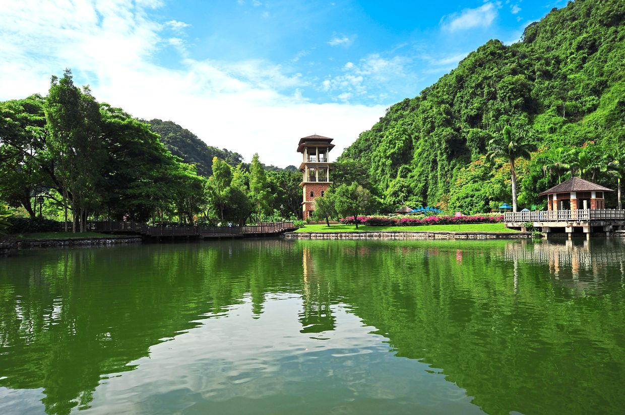 Perak wants to leverage on its 'green state' reputation by promoting tourist sites like the scenic Gunung Lang in Ipoh.