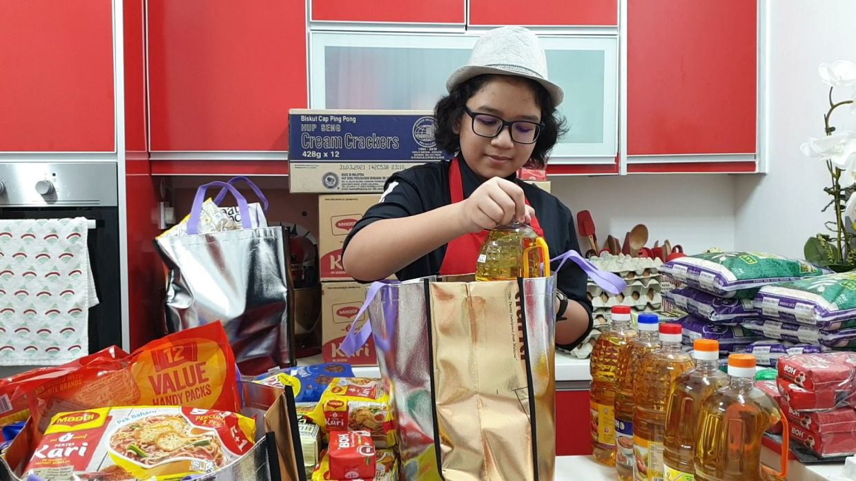 Malaysian Danish Harraz, 13, founded his own charity group to help the needy