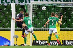 Ilsanker brace for Eintracht keeps Bremen in drop zone