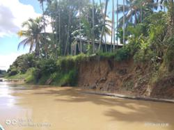 100 people risk losing their homes as riverbank erosion threatens longhouse settlement
