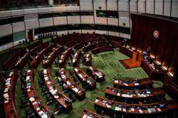 Hong Kong legislature starts voting on amendments to national anthem Bill