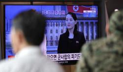 South Korea says mulling leaflet ban after threat from Kim's sister