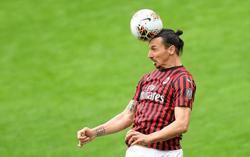 Milan say Ibrahimovic making good recovery from calf injury
