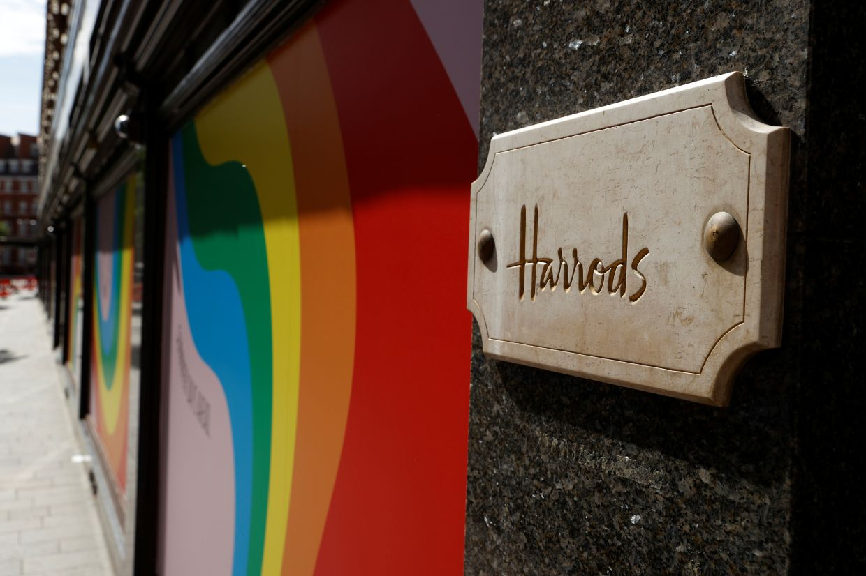 Harrods is famed for selling everything and anything, from tea to artwork and furniture.