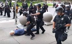 Video shows police in Buffalo, New York, shoving 75-year-old to ground