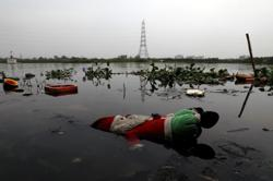 India's Yamuna river regains sparkle as virus lockdown banishes waste
