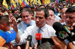 France denies harbouring Venezuelan opposition leader Guaido in Caracas