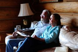 Special Report: Meet the masters of social distancing - Couple live alone in wilderness for decades