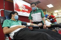 Safe to donate blood at this time, donors assured