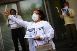 Protests over police abuses flare again in Mexico's two largest cities