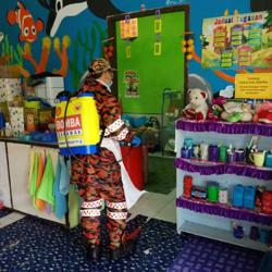 9,000 strong sanitisation ops deployed ahead of reopening of over 700 childcare centres in S'wak