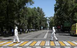 Kazakh police detain dozens of anti-government protesters