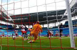 Paderborn grab last-gasp goal for vital point at Leipzig