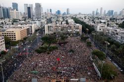 Israelis protest Netanyahu's annexation plan