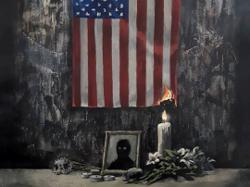 Banksy's powerful new artwork pays tribute to George Floyd