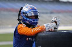 Motor racing: Dixon puts in long day to take win on IndyCar return