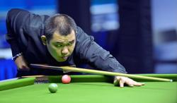 Thor can't hammer down a frame in snooker meet