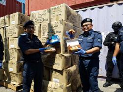 Customs seizes container load of goat, camel milk mixed with drugs worth RM100mil