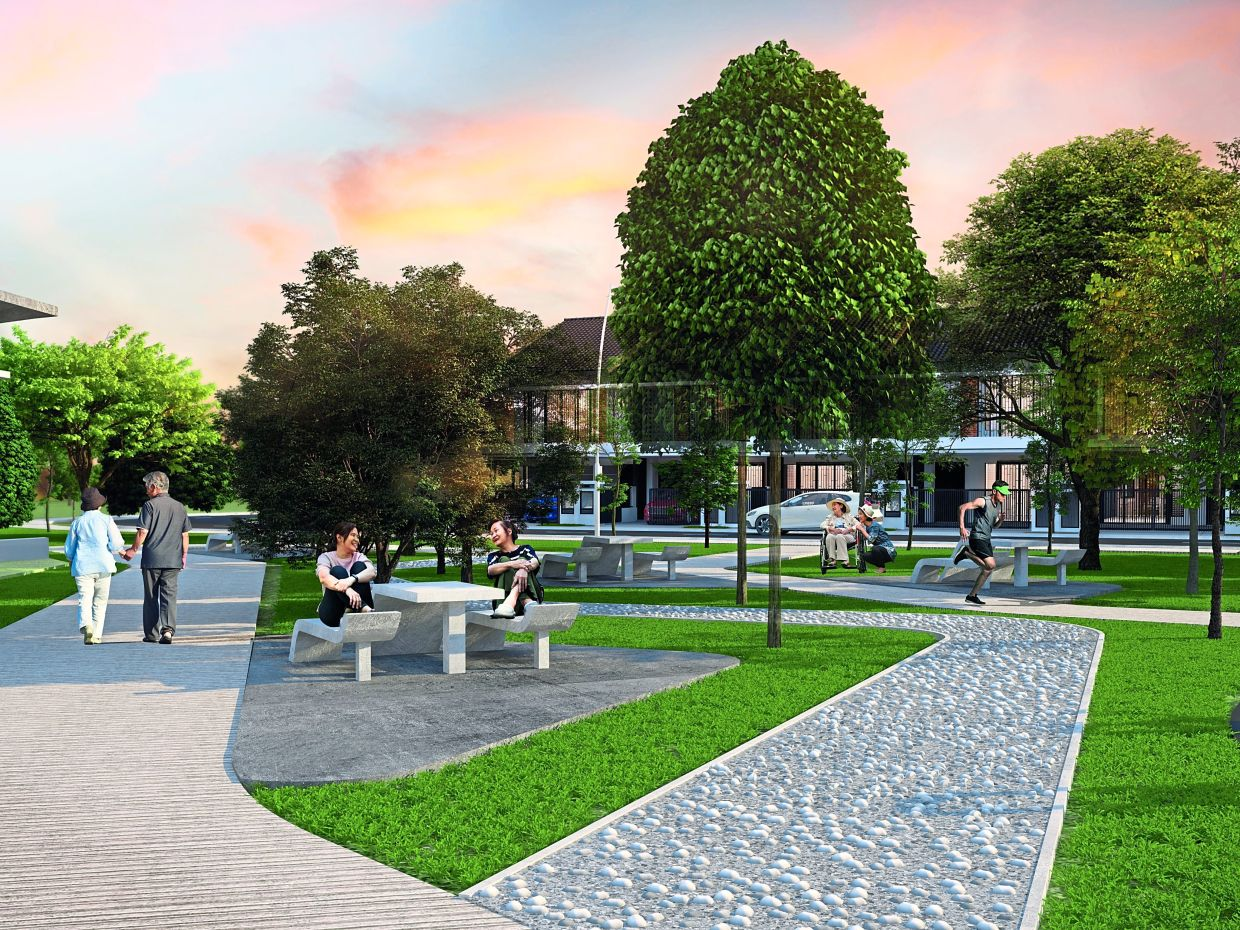 Elmina Green Three is complemented by facilities such as playgrounds and 90km jogging and cycling tracks.