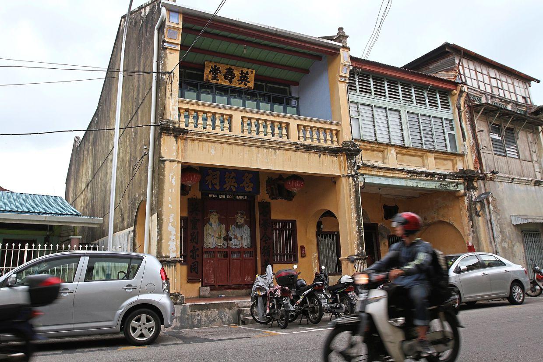 The Meng Eng Soo Temple in Jalan Pintal Tali.