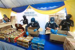 Drugs worth RM100mil found in milk powder