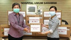 SGH gets medical tools from Star Frontliners Initiative