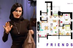 Love Monicas 'Friends' apartment? Interior designer sketches TV show floorplans